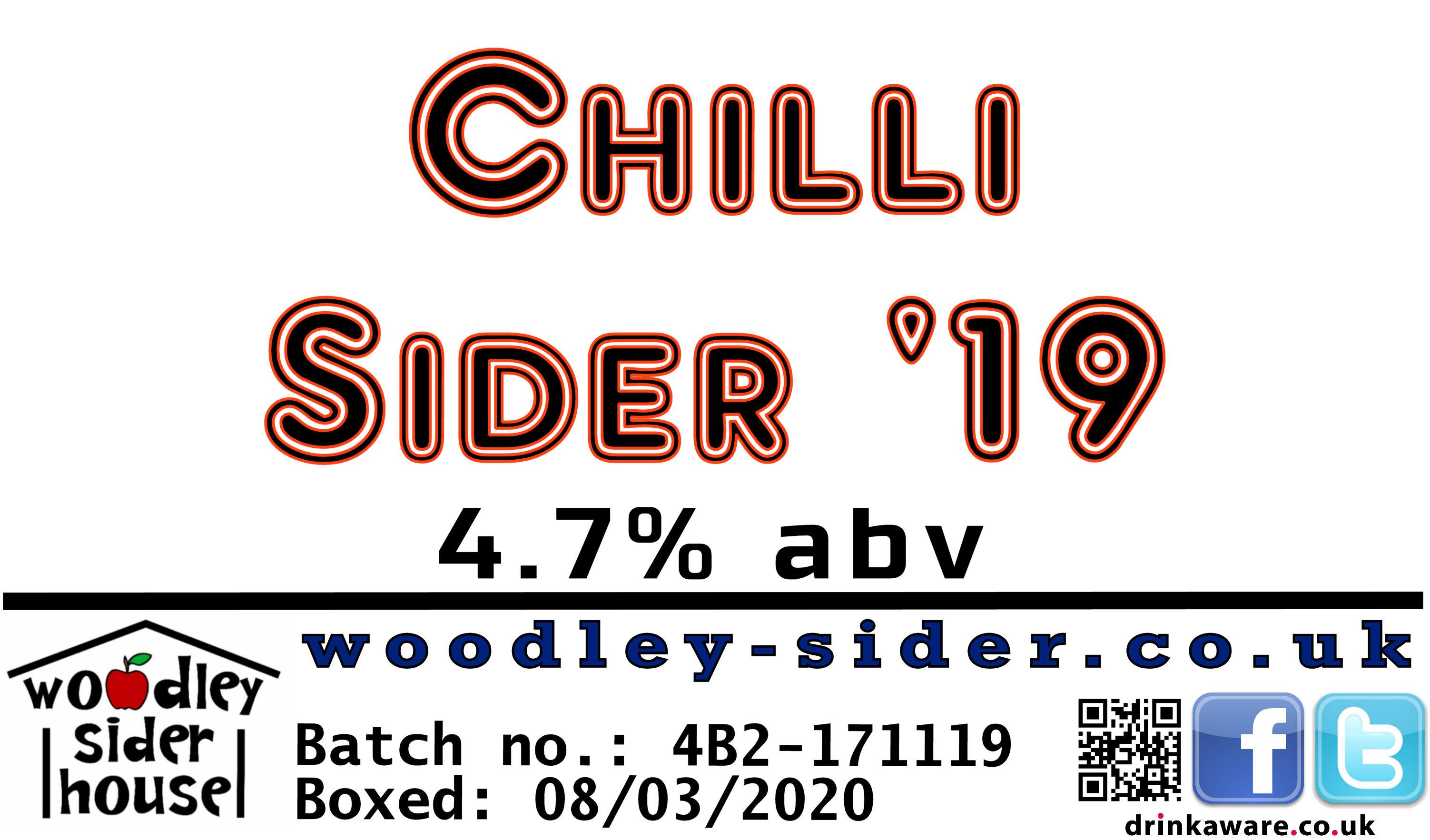 Chilli Sider '19