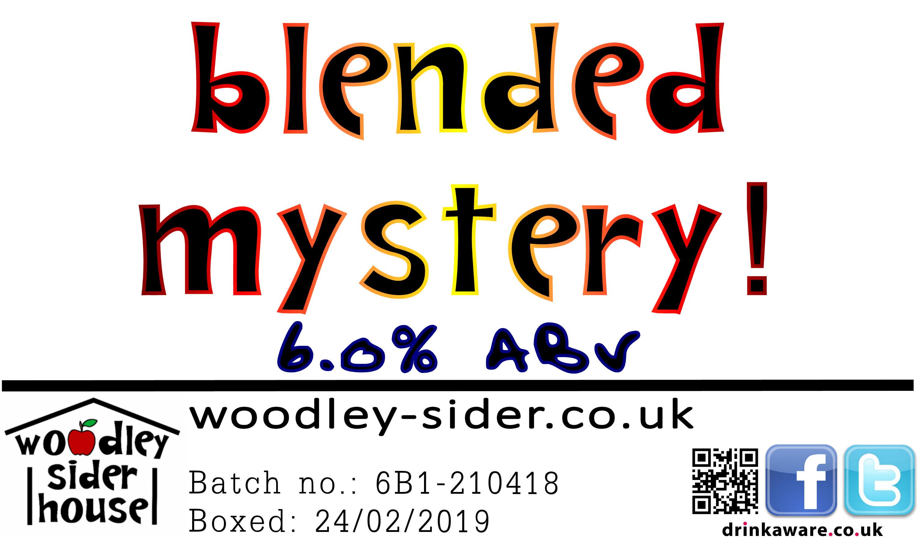 Blended Mystery!