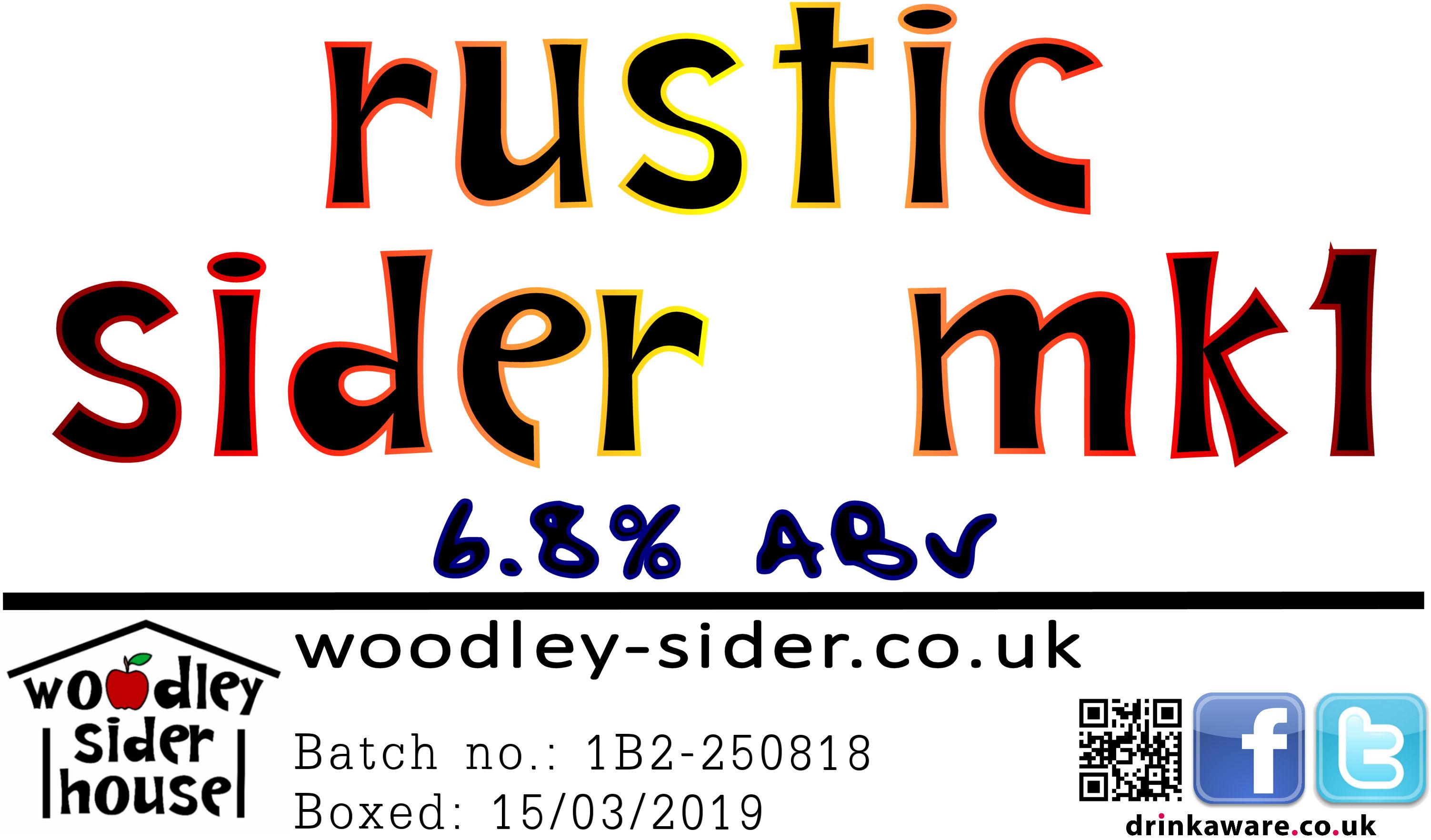 Rustic Sider Mk1