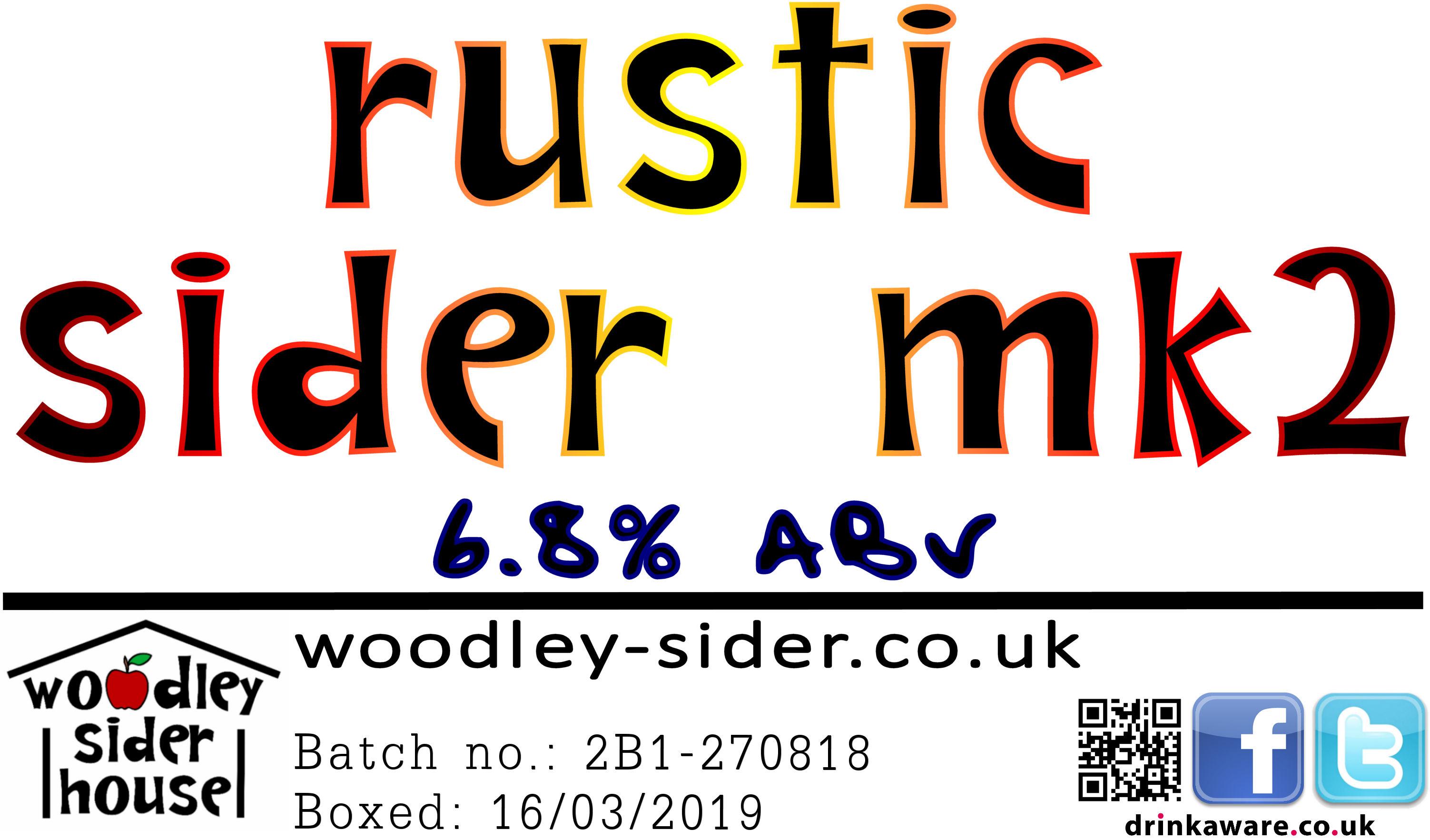 Rustic Sider Mk2