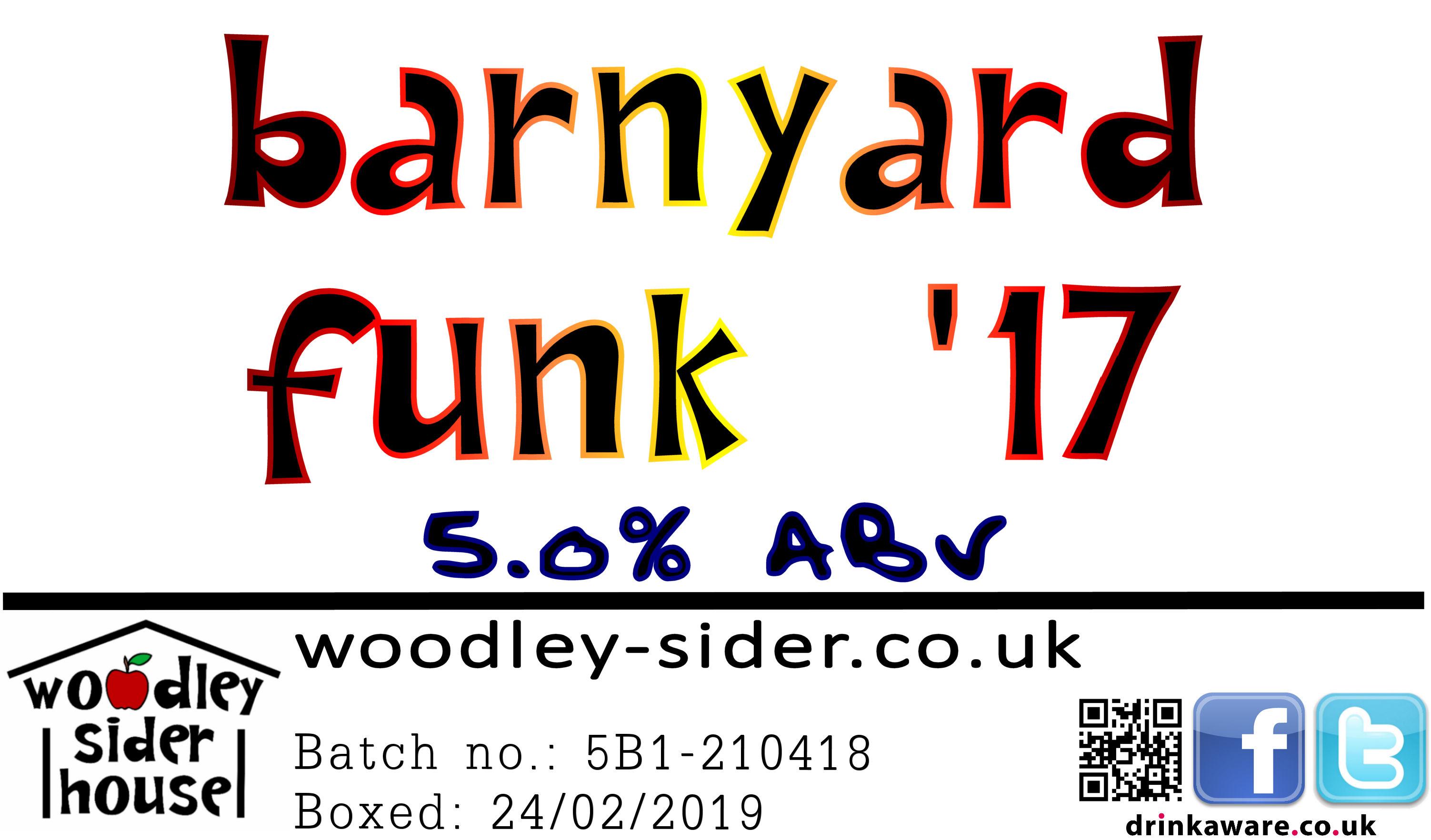 Barnyard Funk '17